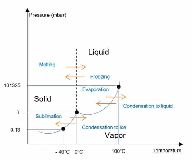phase diagram for lyophilization process