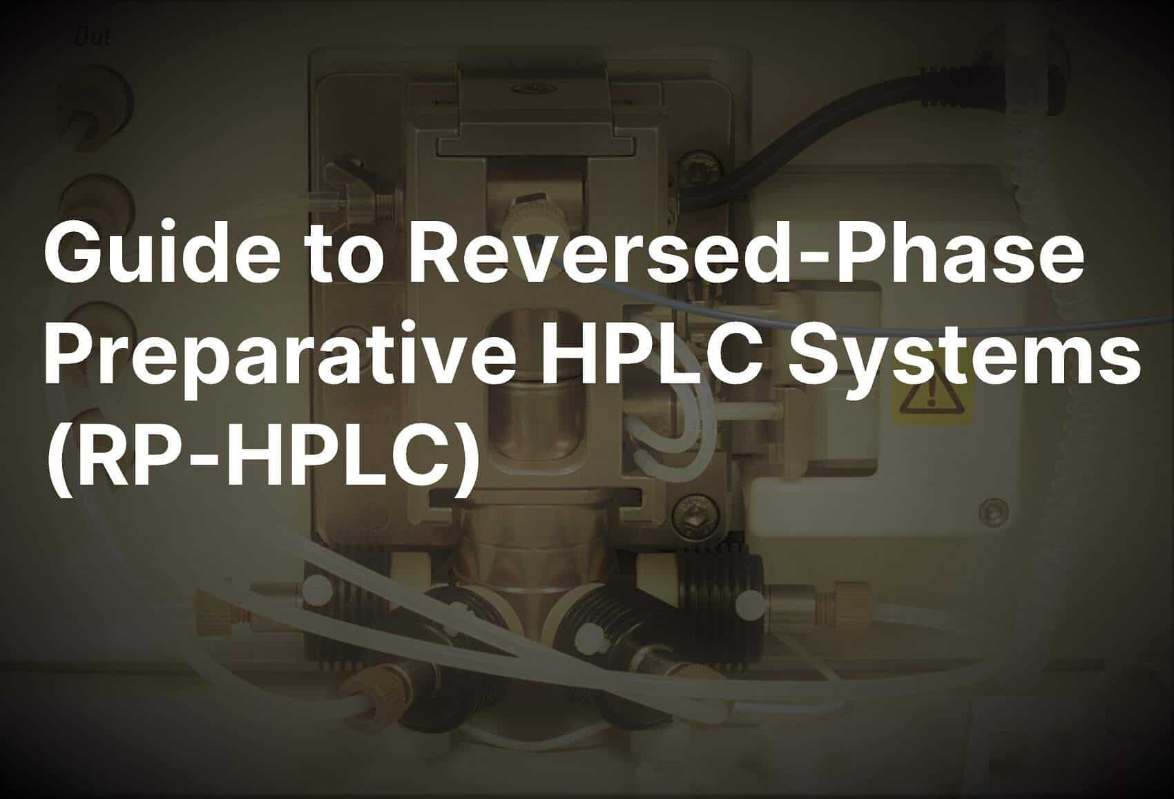 reversed phase preparative HPLC system